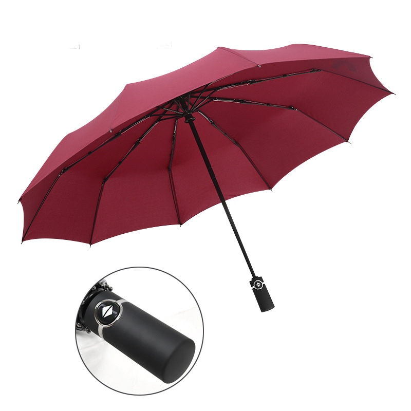 YADA 10K Design Luxury Big Windproof Folding Rainy Automatic Umbrella For Women Men Anti UV Auto Umbrella Female Parasol YD059 in Umbrellas from Home Garden