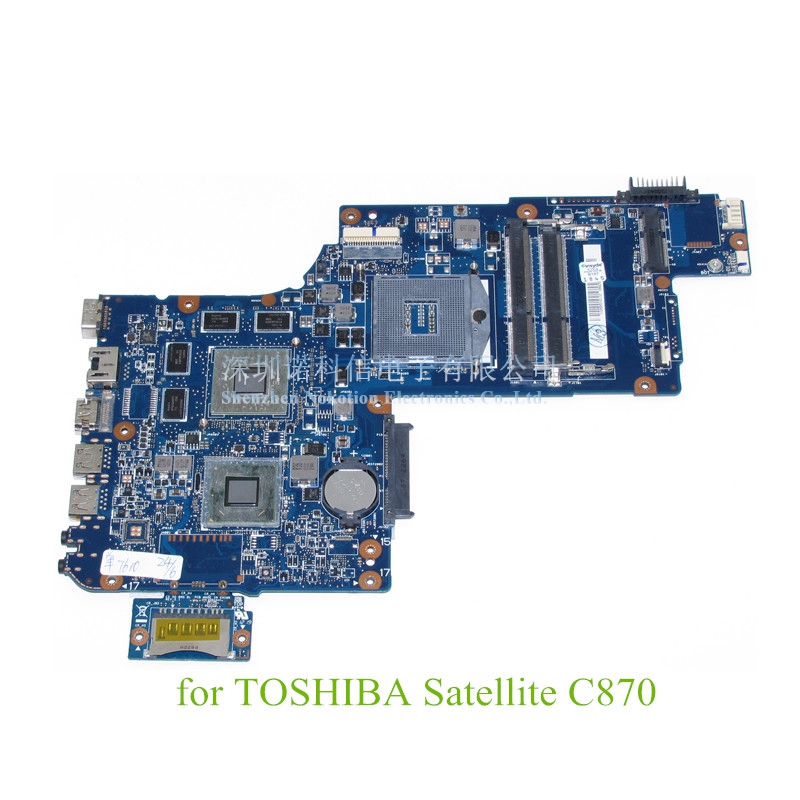 NOKOTION brand new H000041510 laptop motherboard For Toshiba Satellite C870 L870 17.3'' ATI HD4000 DDR3 Warranty 60 days nokotion for toshiba satellite c850d c855d laptop motherboard hd 7520g ddr3 mainboard 1310a2492002 sps v000275280