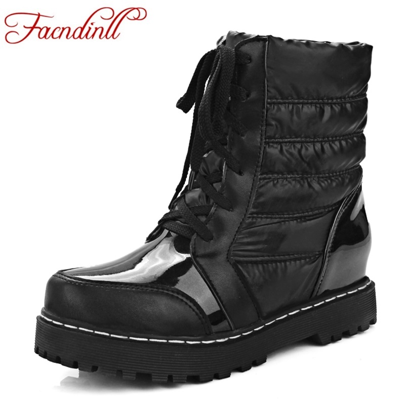 new fashion winter boots ladies keep warm snow boots platform shoes woman ankle boots waterproof casual riding boots black botas