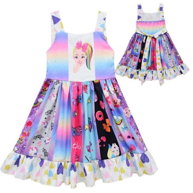 Toddler Baby Kids Girls Cat Sequins Tutu Princess Dot Dress Clothes Outfits 2019 Baby Clothes