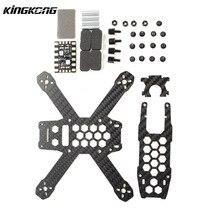 Original KingKong 130GT 130mm Carbon Fiber Frame Kit 5V 12V PDB Board For RC Camera Drone FPV Quadcopter Part