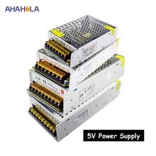 switching power supply 5v 2a 3a 5a 10a 20a 30a 40a 50a 60a ac 220v to dc 5v power supply unit 5 volt alimentatore smps