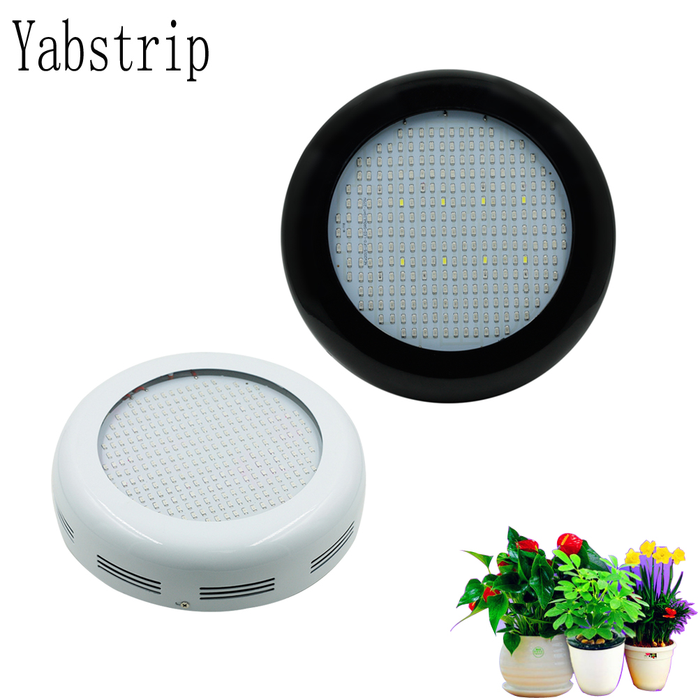 Yabstrip LED Grow Lamp 400W 277leds UFO Full Spectrum Led Grow Light AC85~265V For Indoor Plant Growing And Flowering Phyto Lamp