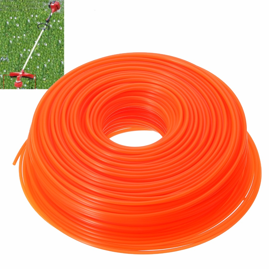 Nylon Brushcutter Trimmer Nylon Cord Strimmer Cord Line Mayitr Trimmer Lawn Mower Parts Spares Garden Tools silver alloy line trimmer head with 4 nylon line brush cutter for brushcutter garden tools lawn mower tool parts mayitr