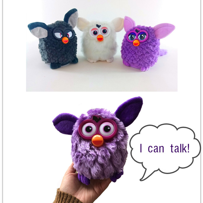 Talking And Hamster Furbiness Phoebe Firbi  Pets Plush Electronic Smart Toy Interactive Toys Doll Pets Owl Elves  Recording Boom