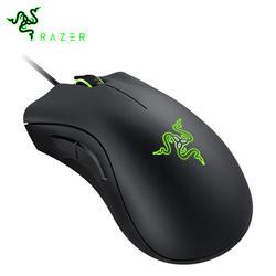 Razer DeathAdder Essential эргономичная профессионально-качественная мышь 6400 dpi оптический датчик для компьютера ноутбука ПК мыши