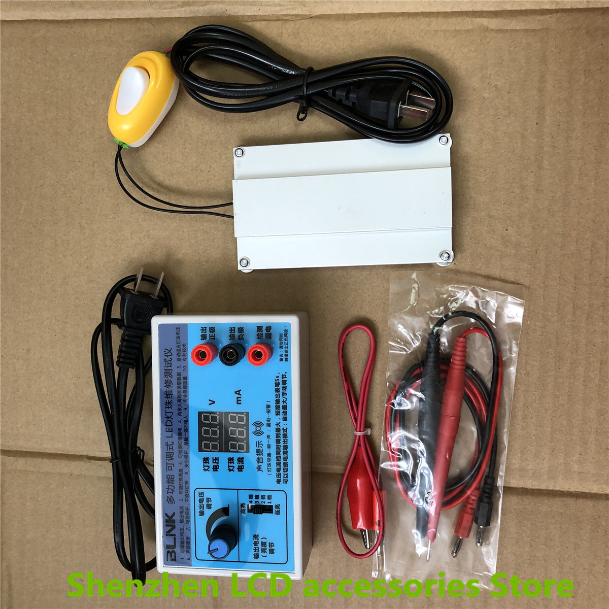 LED Lamp Bead Tester LED Light Bar tester LCD TV Board backlight detector and PTC disassembly pad  100percentNEW