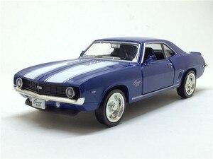 Image 4 - Camaro, 1/36, échelle américaine, modèle de voiture en métal moulé, 1969, échelle, jouet, Collection cadeau danniversaire pour enfants, livraison gratuite