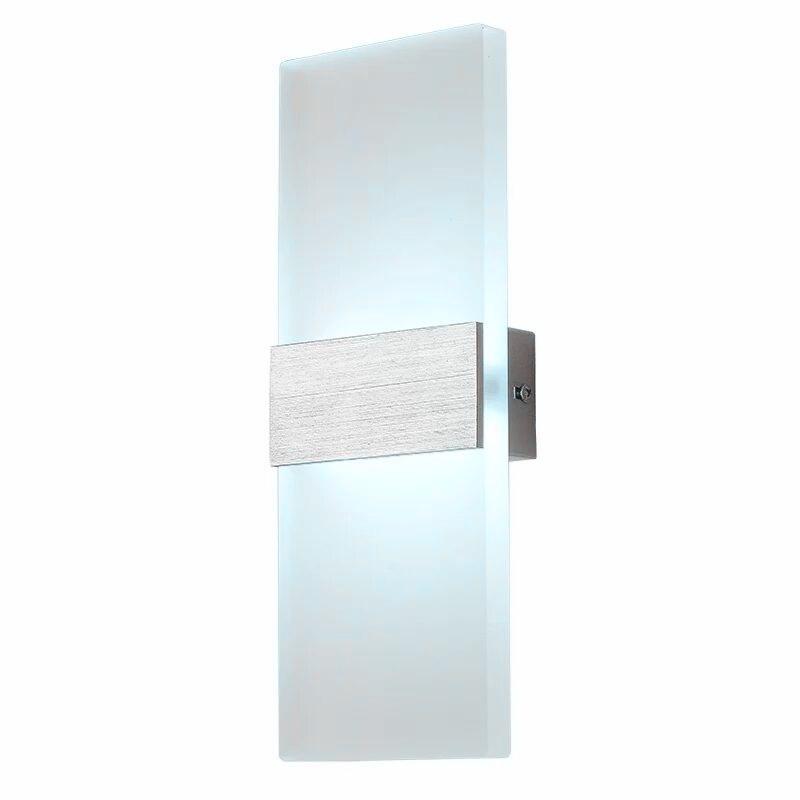 US $10.03 8% OFF|Moderne Wand Licht Platz Led Lampe Badezimmer Leuchten  Appliques Leuchten Murales Wand Licht Up Down-in LED-Innenwandleuchten aus  ...