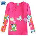 Novatx F5921 девочки одежда девушки футболки детская одежда случайный аксессуары детская одежда vestidos майка для девочки