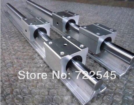 12 mm Linear Rail Set 2xSBR12 Length 1000 mm 4xSBR12UU Block For CNC Parts Set