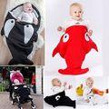 2016 Fashion sleeping bag!! baby boys girls shark cute cartoon sleeping bag