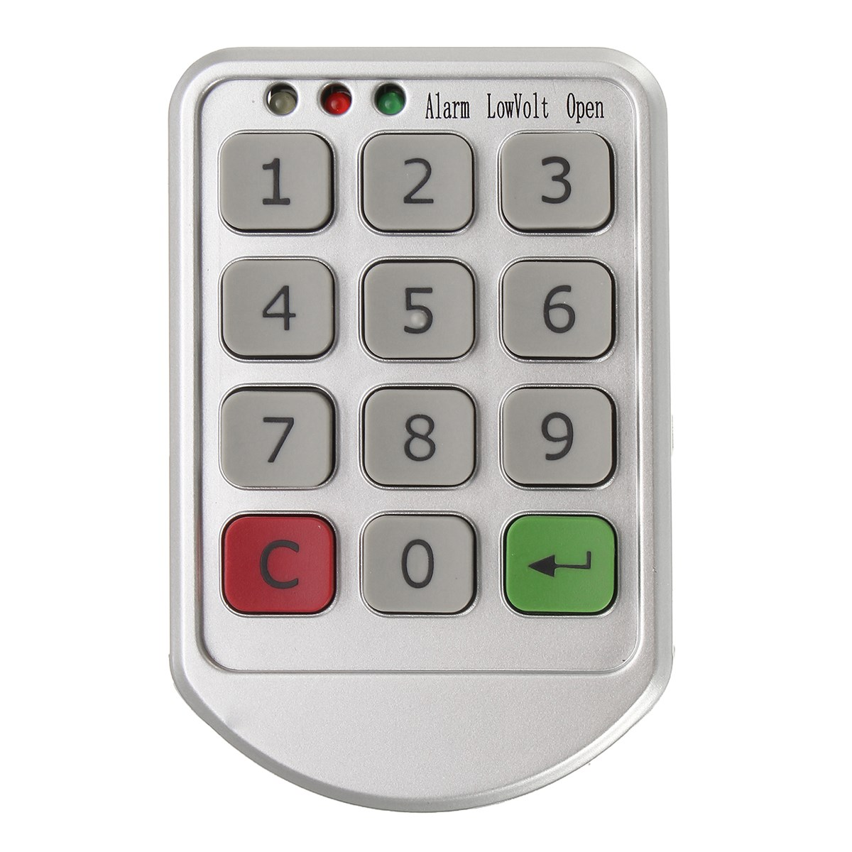 Electronic Intelligent Password Keypad Number Cabinet Door Code Lock Digital  Access Control s 108 no power 1000 set password trouble free 3 digit number cabinet lock access control system password lock hook