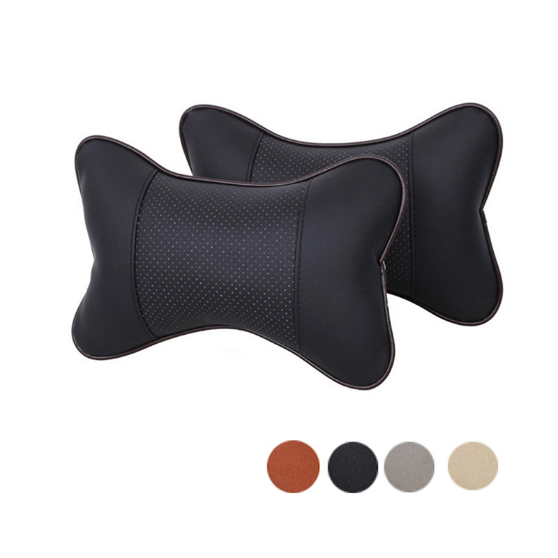 Car Neck Pillow PU Leather Headrest For Mazda 3 6 CX-5 2 5 323 CX5 626 CX 5 MX5 Demio RX8 CX-7 CX7 For Infiniti FX35 Q50 G35 G37 deechooll 2pcs wedge light for mazda 2 3 5 6 mx5 rx8 cx7 626 gf gg ge gw canbus t10 57smd 6w led clearance xenon lighting bulbs