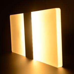Image 2 - Feimefeiyou 6W 29cm PIR 모션 탐지기 + 빛 센서 lampada Led 빛 적외선 인간의 신체 유도 램프 벽 램프