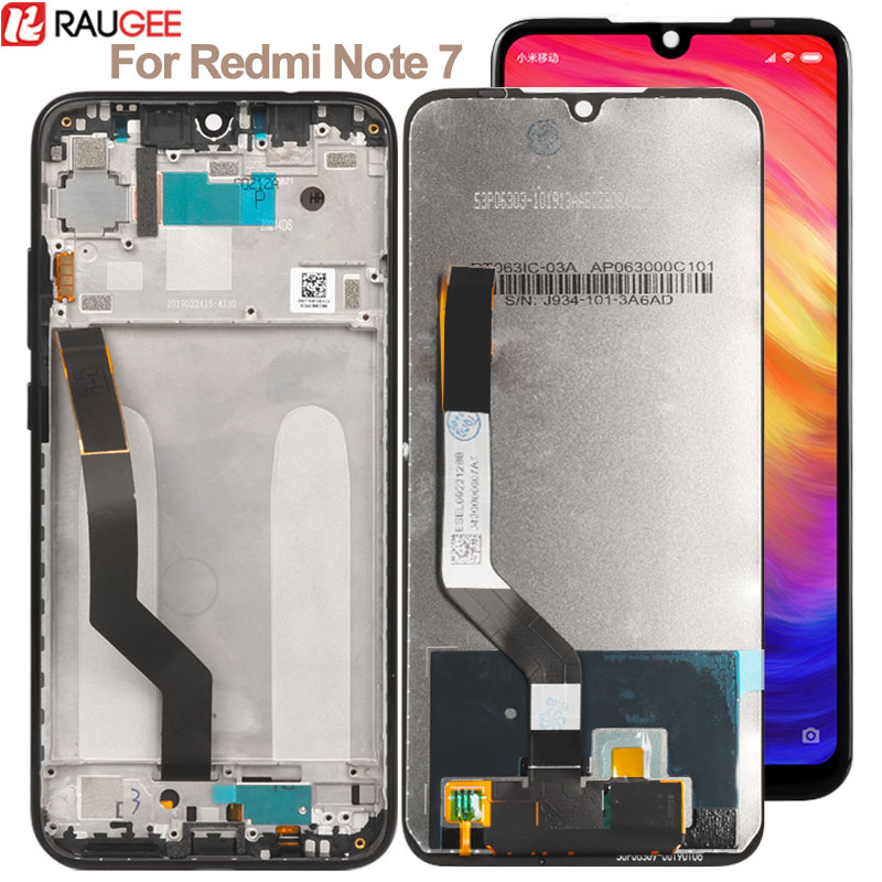 Display For Xiaomi <font><b>Redmi</b></font> <font><b>Note</b></font> <font><b>7</b></font> <font><b>LCD</b></font> Touch Screen with Frame Digitizer Glass Panel For <font><b>Redmi</b></font> <font><b>Note</b></font> <font><b>7</b></font> <font><b>Pro</b></font> <font><b>Lcd</b></font> Replacement Display image