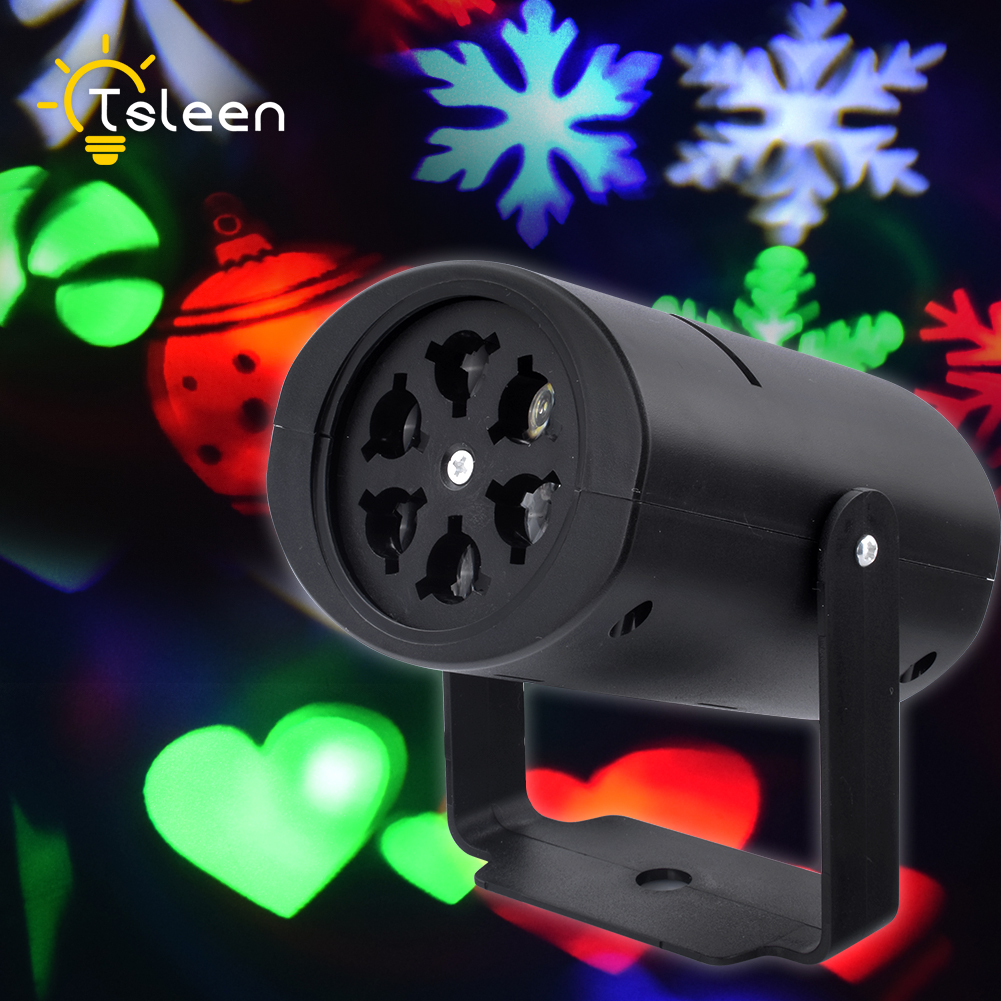 RGB RGBW LED Stage Light Laser Projector Lamp Heart Snow Spider Bat Christmas Party Landscape Light Garden Lamp Outdoor Lighting