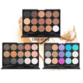 Eye Shadow Eye Makeup Cosmetic 15 Earth Color Matte Shimmer Pigment Eyeshadow Make Up Palette 3 Color Optional Maquillage