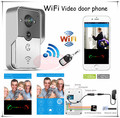 DHL&EMS free shipping New Wifi video intercom/ wifi wireless video door phones (App can be run in Android and IOS devices )