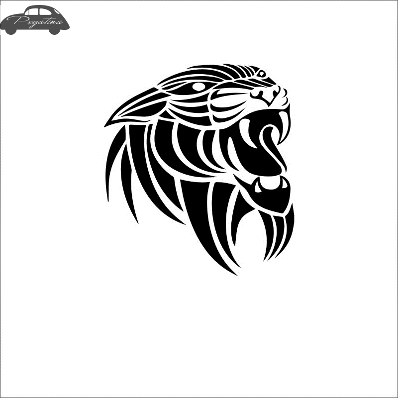 ᗔpegatina Harimau Stiker Tigre Mobil Stiker Mobil Poster Vinil