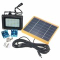 Sensor de Luz 3528 SMD impermeable 54 LED Solar Led de Iluminación Al Aire Libre Luz de Inundación de Seguridad de Control Manual Y el Modo de Control de Luz