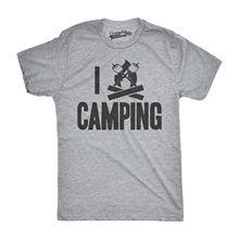Mens I Campfire Camping Funny Love Summertime Vacation Hiking T shirt Harajuku Fashion Classic Unique free shipping