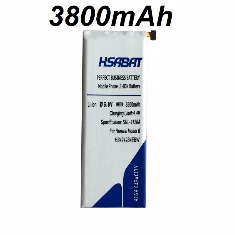 imágenes para HSABAT 3800 mAh Batería para Huawei honor 6 H60-L02 H60-L01 H60-L11 HB4242B4EBW H60-L04