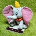 Envío Libre 30 cm = 11.8 inch Original Dumbo Elefante Juguetes de Peluche Animales de Peluche Juguetes de Peluche para el Regalo del bebé
