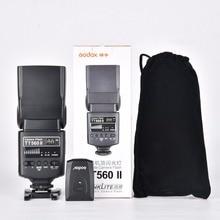 Godox Flash TT560II GN38 Build-in 433MHz Wireless Transmission+ Channels Transmitter for Nikon Canon Pentax Olympus Cameras