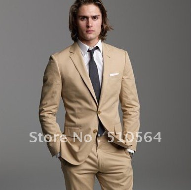 Popular Mens Beige Suits-Buy Cheap Mens Beige Suits lots from ...