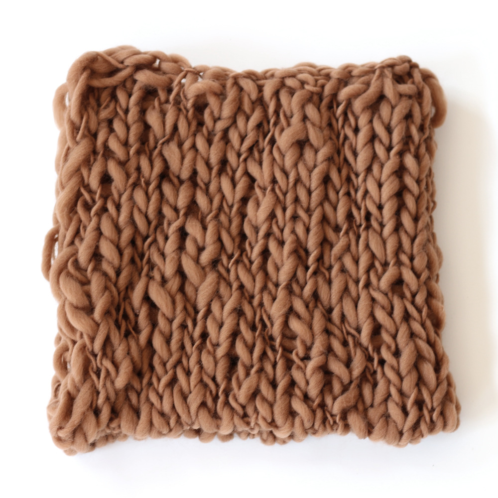 Ultimate SaleBlanket Photography-Props-Accessories Square Newborn Carpet Woven 50x50cm Baby