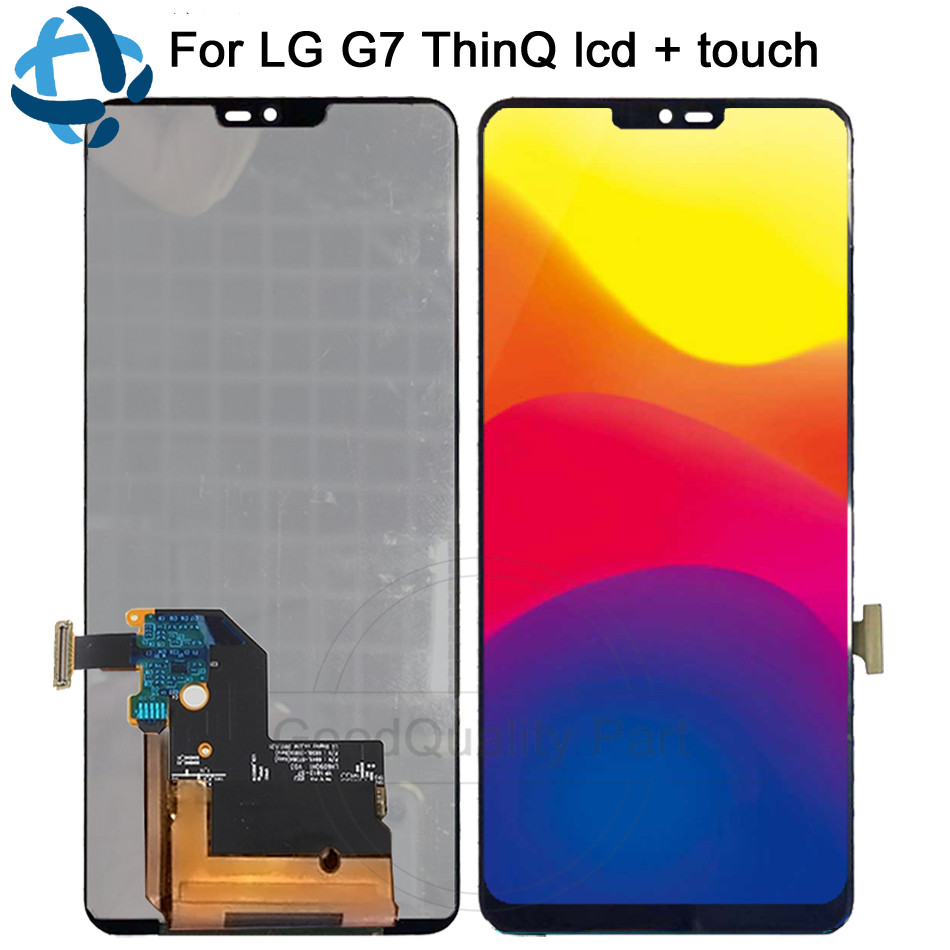 For LG G7 LCD Display Touch Screen G710 G710EM G710PM G710VMP Panel Digitizer Assembly Replacement Parts For 6.1 LG G7 ThinQFor LG G7 LCD Display Touch Screen G710 G710EM G710PM G710VMP Panel Digitizer Assembly Replacement Parts For 6.1 LG G7 ThinQ