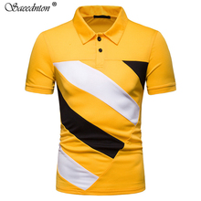 Polo Shirt Men 2019 Summer Cotton Short Sleeve Jersey Breathable High Quality Mens Business Casual Streetwear Tees
