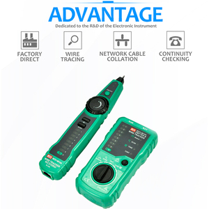 Image 4 - Кабельный тестер RJ45, сетевой UTP трекер, сканирование проводов, проверка телефонной линии, видоискатель RJ11 Cat5 Cat6, оптовая продажа, Прямая поставка