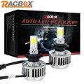 RACBOX 33 W Virutas Del Cree LLEVÓ la Linterna Del Coche Auto H7 H8/H9/H11 9005 9006 HB3 HB4 H1 H3 Luz de Niebla Del Bulbo DRL Automóviles H4-3 faro