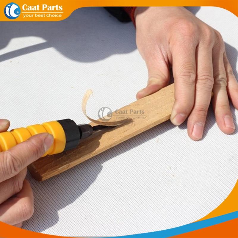 Elektrický řezbářský nůž na dřevo, ohebná šachta + - Zařízení na obrábění dřeva - Fotografie 6