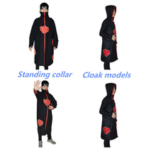 a698c080b8f34 Halloween Naruto Akatsuki capa Ah capa cosplay anime traje Nube Roja capa  hombres y mujeres aplicables