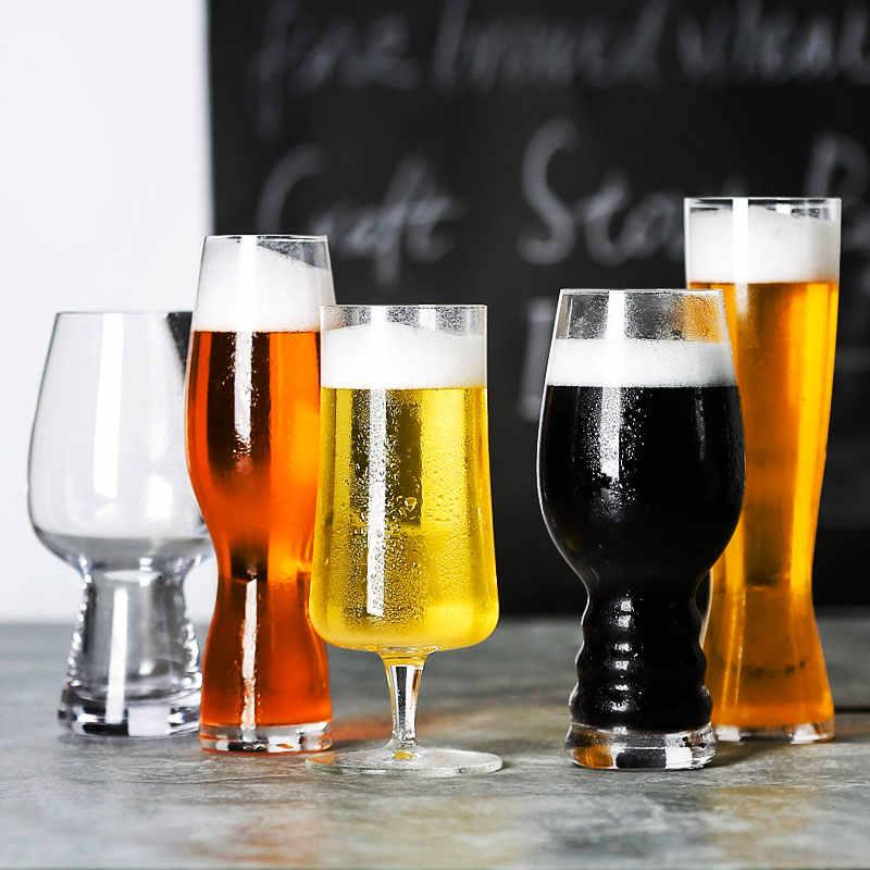 1 adet zanaat demlemek bira bardakları lale klasikleri bira gelişmiş bira içme Bliss