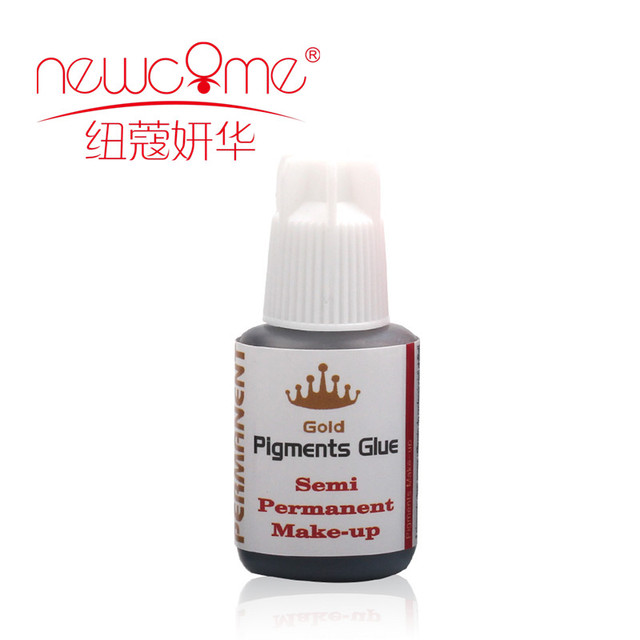 e1833bf2b03 10ml Lashes Glue for Individual Eye lash Extension Fast Drying Gold  Pigments Glue Semi Permanent false