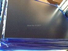 10 шт. 1,0X400X500 мм 100%/полный углеродного волокна твил матовая плиты/лист/совет