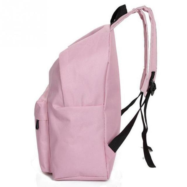 2018 Small Fresh Girls School Bag Women Canvas Rucksack Backpack Schoolbook  Shoulder Bag Travel Backpacks 1a2b7461d0