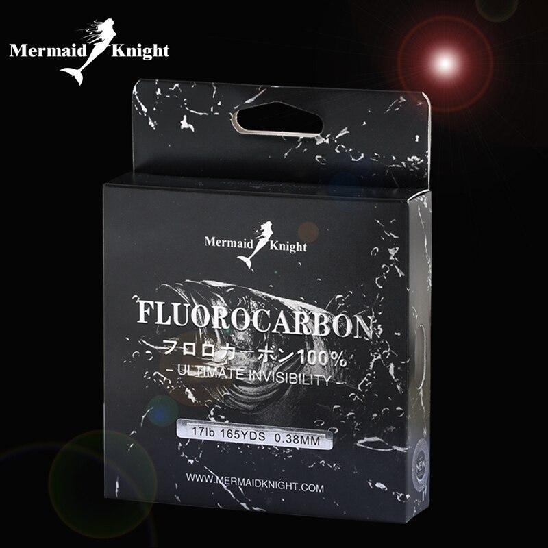 Línea de pesca de Simago fibra de carbono 100% puro fluorocarbono recubierto 165Yds/150 m Premium Spool Fly line 5-20LB fregadero rápido para peces carpa