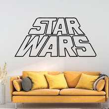 NEW Star Wars Wall Stickers Animal Lover Home Decoration Accessories For Kids Rooms Decoration Removable Decor Wall Decals beauty journey begain single stepwall stickers animal lover home decoration accessories for kids rooms home decor muursticker