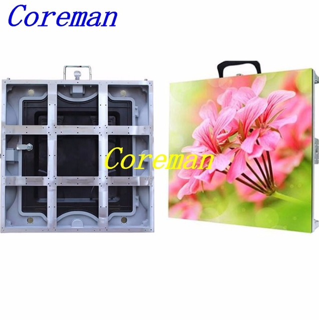 US $233 11 |Coreman LED stage background Rental lightweight P5 P6 indoor  led display big screen p2 5 p3 p4 p5 p6 576X576 96X96 -in LED Displays from