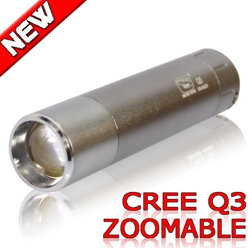 Zoomable LED Flashlight Camping CREE Q3 Handy torch 120 Lumens Outdoor lamp Sporting Lights 8023