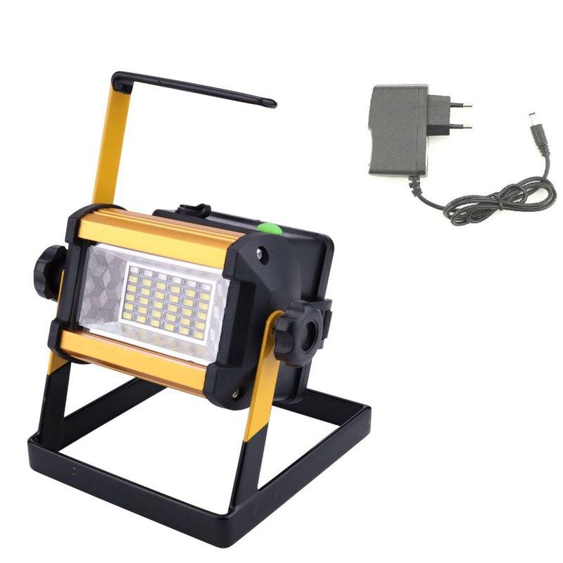 120 Led Cordless Work Light Home Garage Emergency Portable: 50 Watt Portable LED Floodlight Work Emergency Light