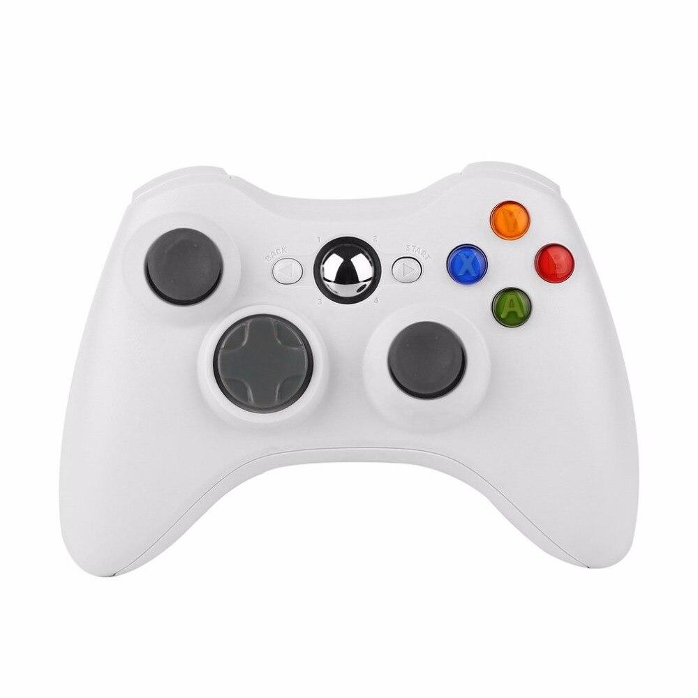 Universal Sem Fio do Controlador Do Jogo de Choque Para Microsoft xBox 360 Controlador xBox 360 branco New HOT Gaming Gamer