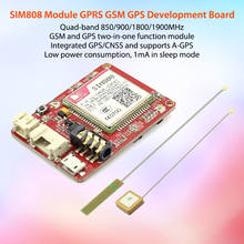 New Arrival SIM808 GPRS/GSM Module GSM and GPS two-in-one Function Module Quad-Band With GSM Antenna and GPS Antenna DIY Kit zgpax pg88 gsm watch phone w 1 44 lcd screen quad band gps positioning and sos black silver