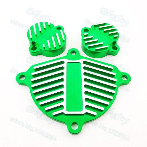 Green Dress Up Kit Engine Cam YX 150cc 160cc 1P60 Cover Valve For Cap Dress Up Kit Pit Dirt Bike Motorcycle Parts