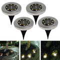 2Pcs Solar Lawn Light Waterproof LED Outdoor Garden Light Landscape Yard Lawn Path Lamp